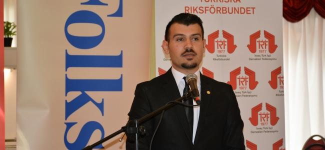 Türk İşçi Dernekleri Federasyonunda değişim, Yasin İPEK yeni başkan.
