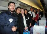 Anadolujet 88 yolcusu ile Stockholm'den uçtu…