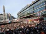 İsveç'teki protesto mitinginde İsrail'e boykot çağrısı geldi...