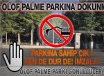 Olof Palme Parkı kararı İsyan ettirdi.